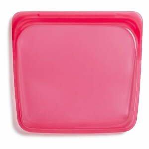 Tmavě růžový svačinový sáček Stasher Sandwich,440ml