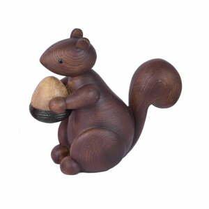Vánoční dekorace Ego Dekor Squirrel, výška 12 cm