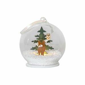 Vánoční závěsná světelná LED dekorace Star Trading Christmas Forest
