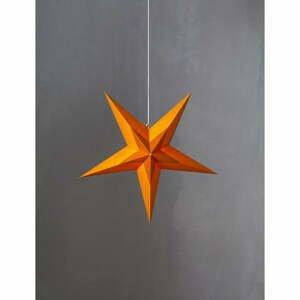 Oranžová vánoční dekorace Star Trading Diva