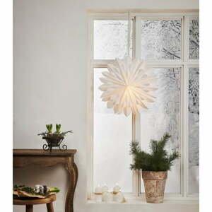 Bílá vánoční světelná dekorace Star Trading Clipp