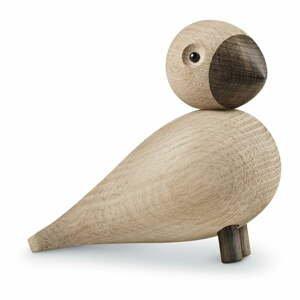 Soška z masivního dubového dřeva Kay Bojesen Denmark Songbird Alfred