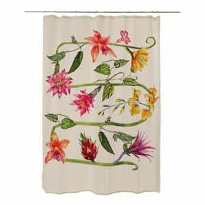 Sprchový závěs Madre Selva Wild Flowers, 200 x 180 cm