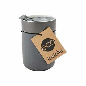 Tmavě šedý cestovní termohrnek Ladelle Eco,300ml