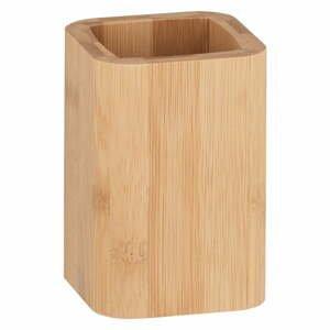 Bambusový kelímek na kartáčky Wenko