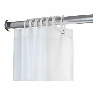 Teleskopická tyč do koupelny ve stříbrné barvě Wenko Luz, délka 70-115 cm