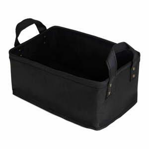 Černý úložný košík ze surové buničiny Compactor Ecologik