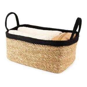 Úložný košík z mořské trávy Compactor Natural,29x20cm