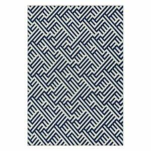Modro-bílý koberec Asiatic Carpets Antibes, 80 x 150 cm