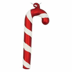 Červená skleněná vánoční ozdoba Green Gate Candy Cane