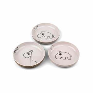 Sada 3 dětských talířů Done by Deer Friends
