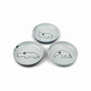 Sada 3 dětských talířů Done by Deer Yummy
