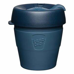 Tmavě modrý cestovní hrnek s víčkem KeepCup Spruce Thermal,177ml