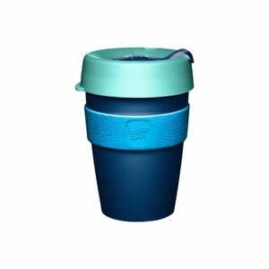 Modrý cestovní hrnek s víčkem KeepCup Australis,340ml