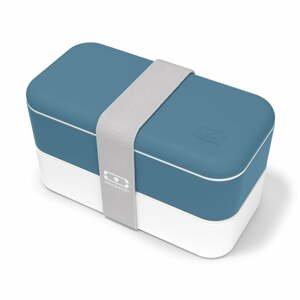 Modrý svačinový box Monbento Original