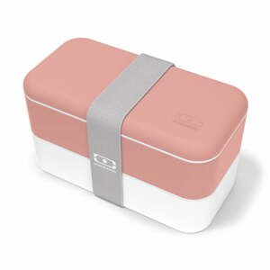 Růžový svačinový box Monbento Original