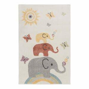Dětský koberec Flair Rugs Elephants, 80 x 120 cm
