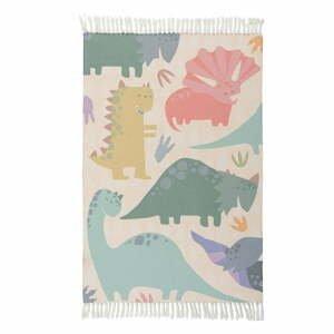 Dětský koberec Flair Rugs Dinosaur, 80 x 120 cm