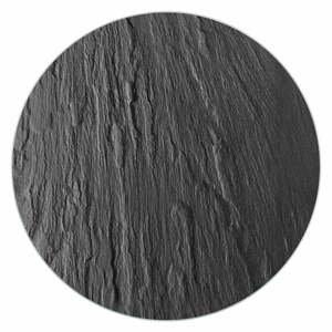 Černá skleněná podložka pod hrnec Wenko Trivet,ø20 cm