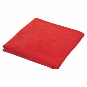 Červený lněný běhoun na stůl Villa d'Este,35x180cm