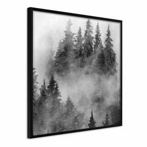 Plakát v rámu Artgeist Dark Landscape, 50 x 50 cm