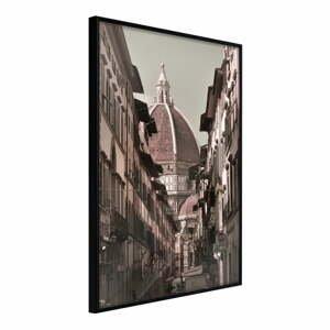 Plakát v rámu Artgeist Cathedral Dome, 30 x 45 cm