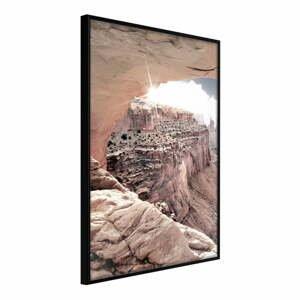 Plakát v rámu Artgeist Beauty of the Canyon, 40 x 60 cm