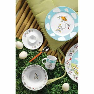 5dílný dětský porcelánový jídelní set Kütahya Porselen Puppy