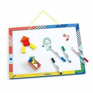 Dřevěná magnetická tabule Djeco