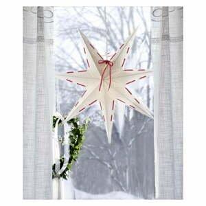 Bílá vánoční světelná dekorace Star Trading Vira