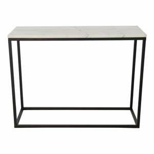 Mramorový konferenční stolek s černou konstrukcí RGE Accent, šířka100cm