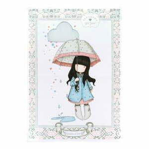 Utěrka z bavlny Santoro London Gorjuss Puddles Of Love, 50 x 70 cm