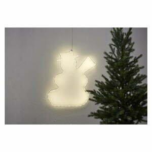 Závěsná svítící LED dekorace Star Trading Lumiwall Snowman