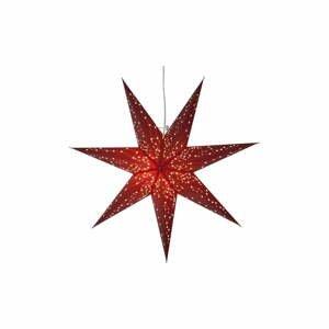 Červená svítící hvězda Star Trading Paperstar Galaxy, 60cm