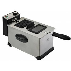 Fritovací hrnec fritéza vivax df-2003ss, 3l