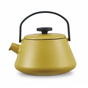 Konvice na vaření vody konvice na čaj brabantia 30004689 t-time, žlutá, 0,7l