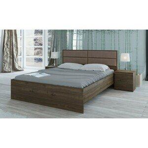 Rám postele talke 160x200, 2 noční stolky,bez roštu,matrace a úp