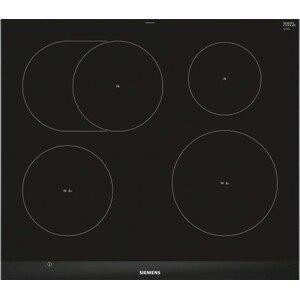 Indukční deska indukční varná deska siemens,60cm,4zóny,7,4 kw,fazetový design