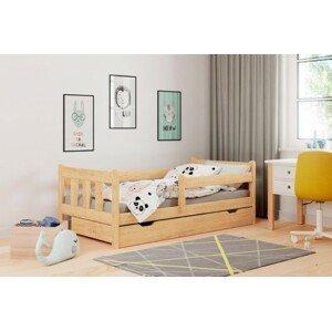 Dětská postel tommy 80x160, borovice, úp, bez matrace