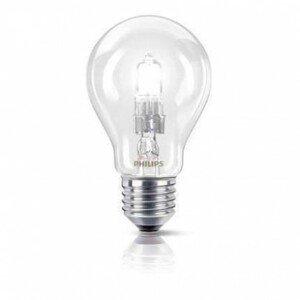 Halogenové žárovky philips ecoclassic 42w e27 230v a55 cl 1ct/10